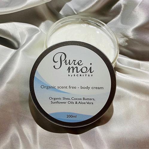 Scent Free - Body Cream 200ml
