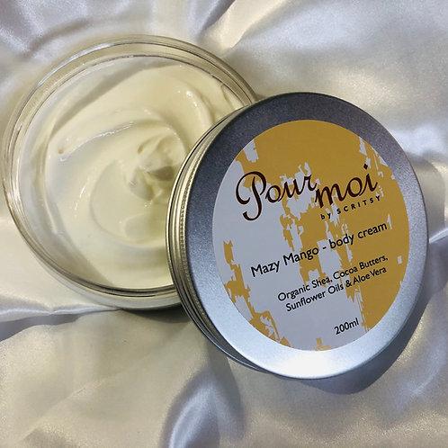 Mazy Mango Body Cream
