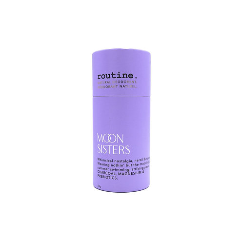 routine natural deodorant- moon sisters