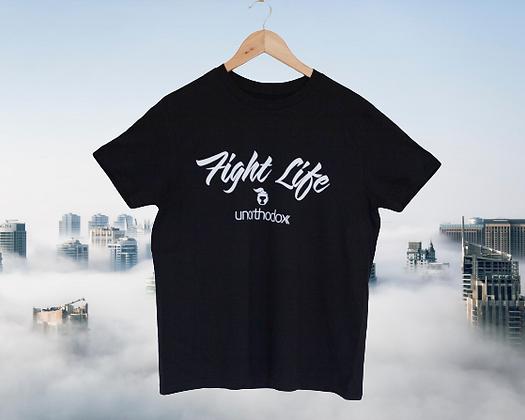 Black 'fight Life' TShirt
