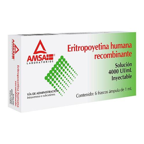 ERITROPOYETINA HUMANA ALVERITIN 4000UI 6 FCO AMP ALVARTIS PH