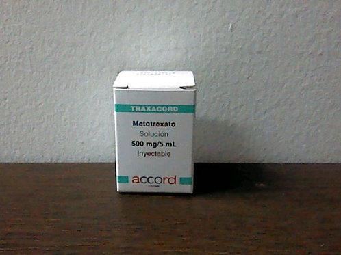 Metotrexato Traxacord 500mg/5 ml sol iny