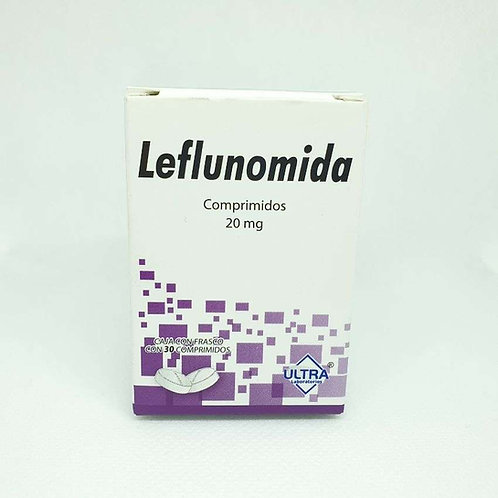 LEFLUNOMIDA 20MG C/30 COMP ULTRA