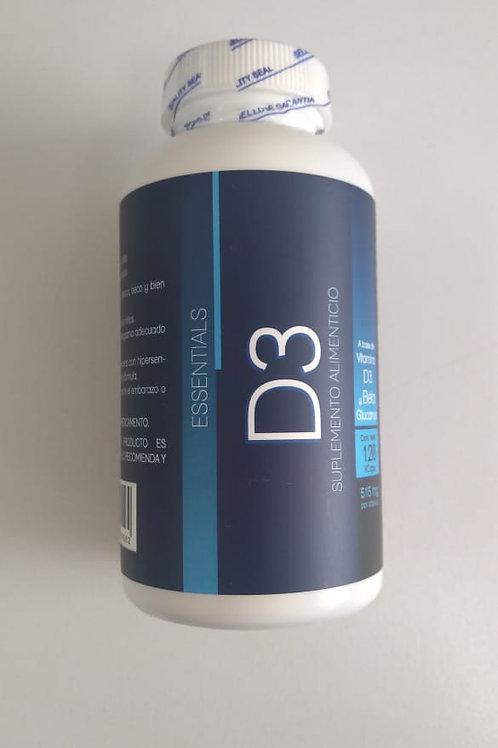 Vitramina D3 515mg C/120 cáps