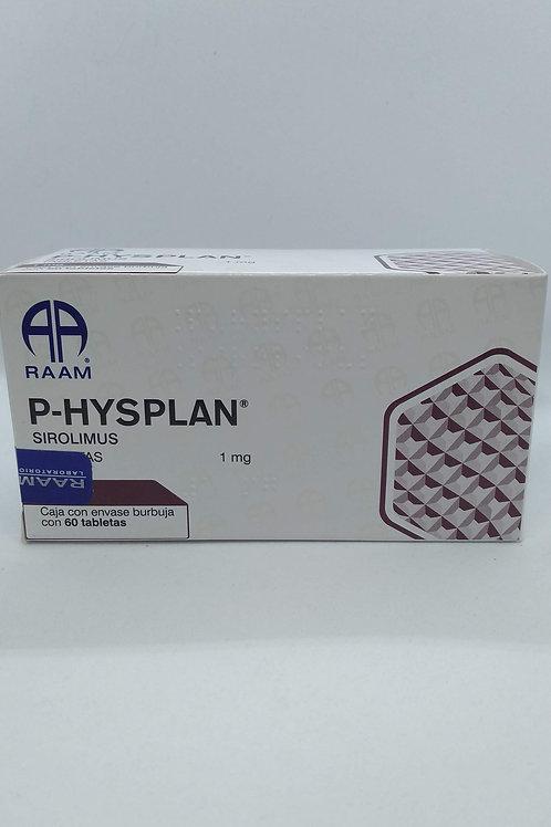 SIROLIMUS P-HYSPLAN 1MG C/60 TABS
