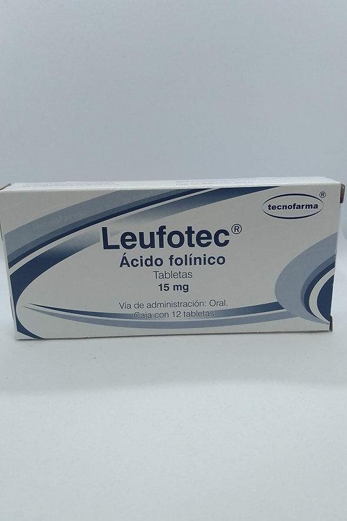 Ácido Folínico Leufotec 15mg C/12 Tabs