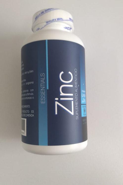 Suplemento Zinc 600mg C/90 Cáps