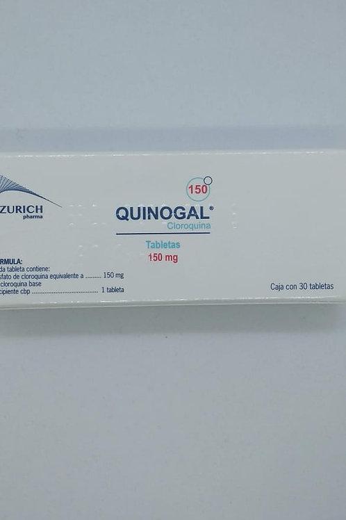 Cloroquina Quinogal 150mg tabs