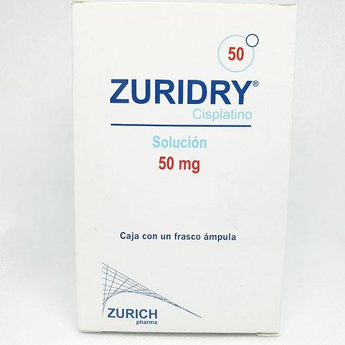 ZURIDRY CISPLATINO 10MG FCO AMP LIOF