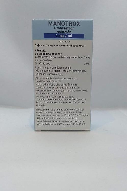 Granisetrón Manotrox 1mg sol iny