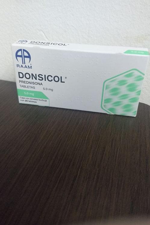 Prednisona Donsicol 5.0mg C/20 Tabs