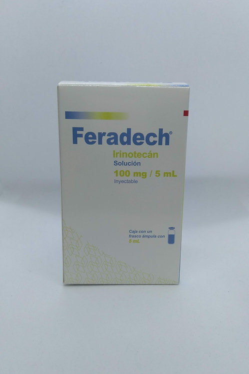 Irinotecan Feradech 100mg/5ml sol iny