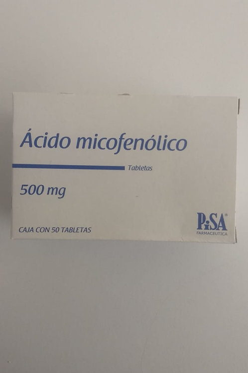 Ácido Micofenólico 500mg C/50 tabs