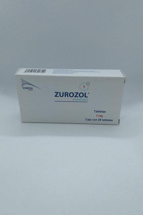 Anastrozol Zurozol 1mg C/28 Tabs