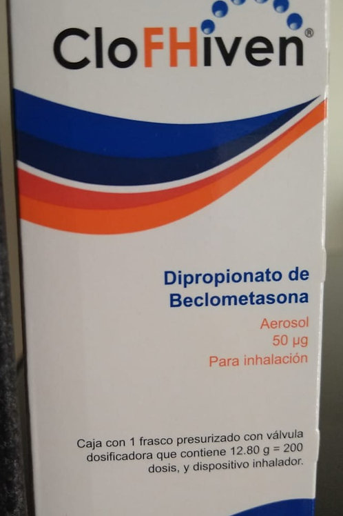 BECLOMETASONA CLOFHIVEN 50MCG C/200 DOSIS AEROSOL (BRITAIR).