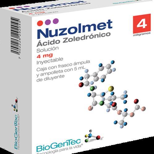 ACIDO ZOLEDRONICO NUZOLMET 4MG/5ML C/FCO AMP BIOGENTEC