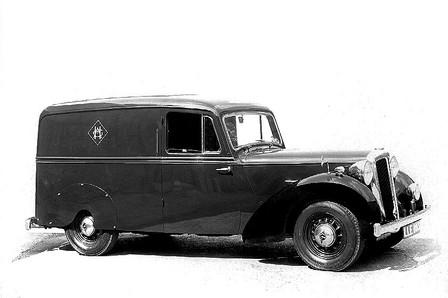 DB18 Van by Hoopers