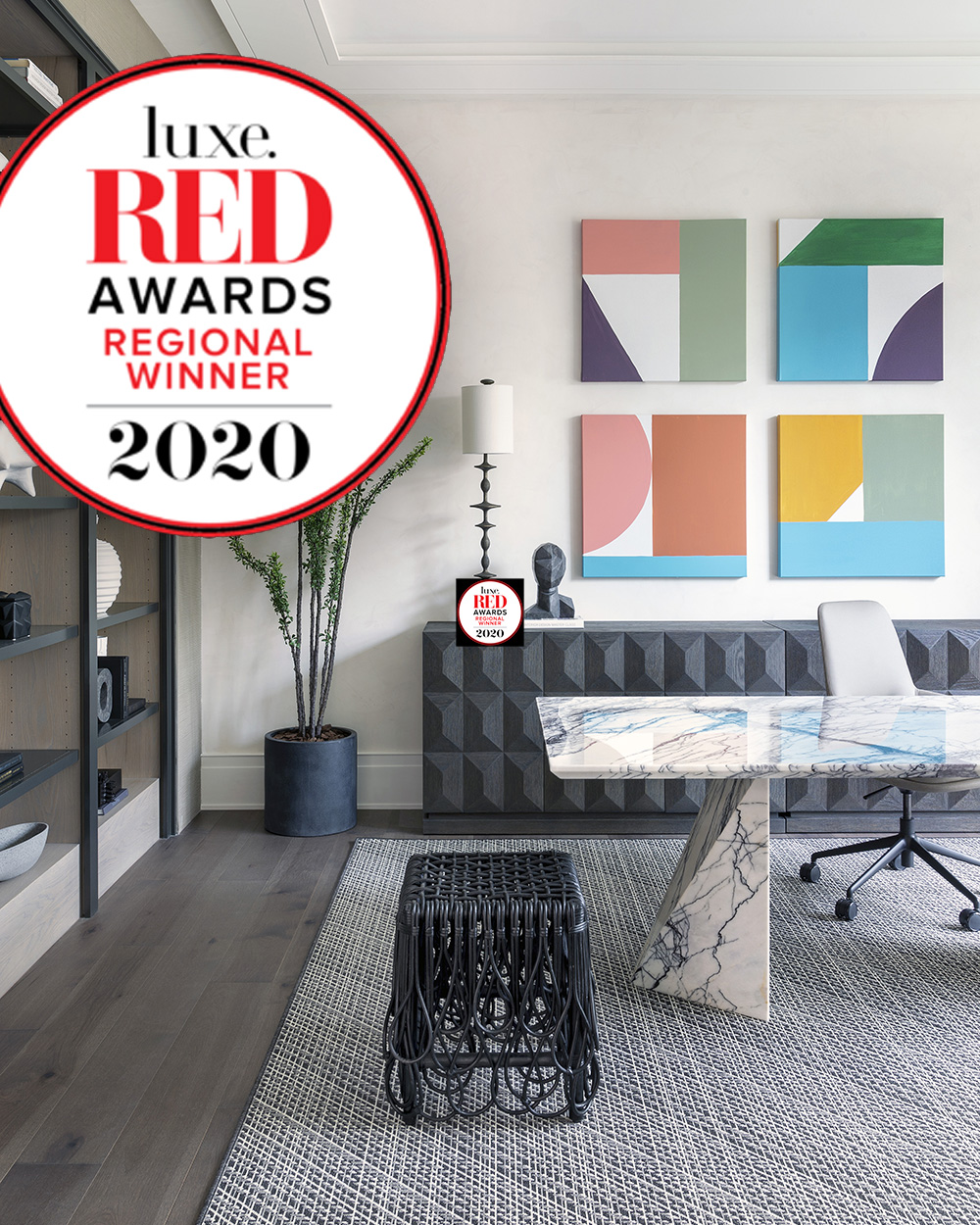 Luxe Red Award Winner
