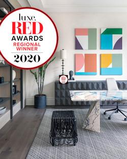 Luxe Red Award Winner