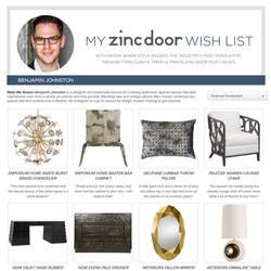 Zinc Door's 'Wishlist From A Pro.'