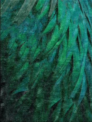 Divine Plumage in Jade