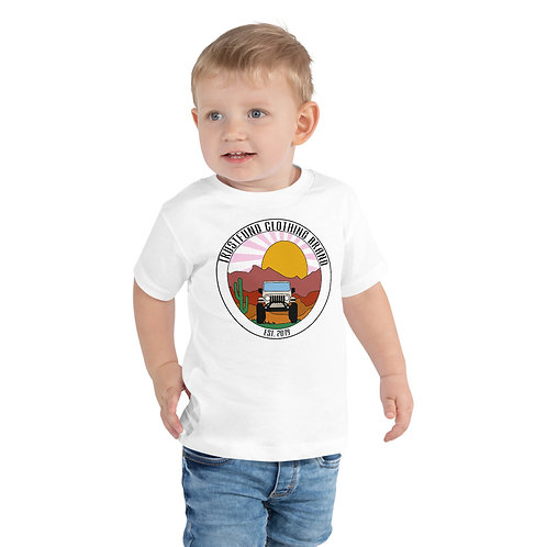 Jeeping with TrustFund Toddler Short Sleeve Tee