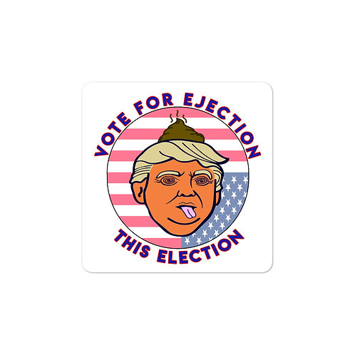 Vote 2020! Bubble-free stickers