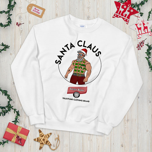 Sleigh Berry Santa Claus Unisex Sweatshirt