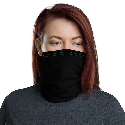 Simple Black Neck Gaiter (Face Mask)