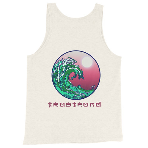 Green Tide Tank Top