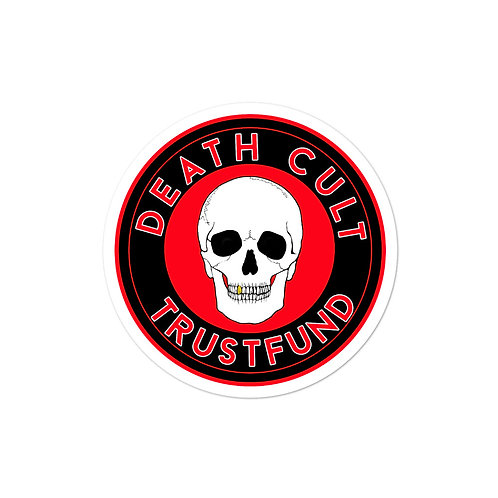 Death Cult Bubble-free stickers