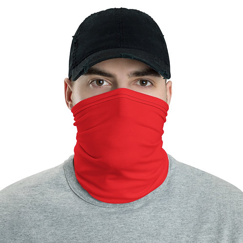 Bright Red Neck Gaiter (Face Mask)
