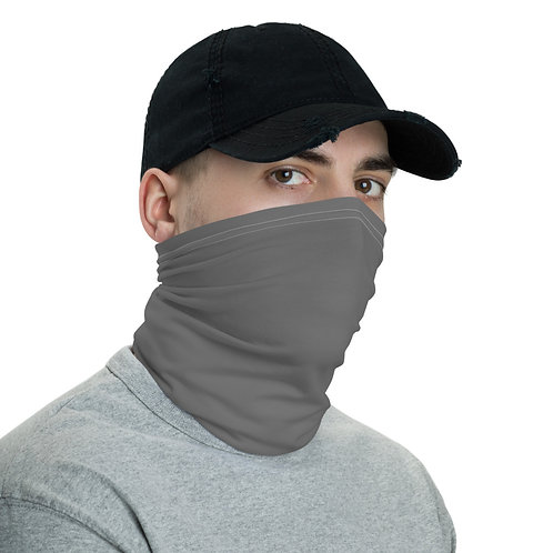 Simple Gray Neck Gaiter (Face Mask)