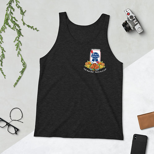 Call Your Dad! (White Font) Unisex Tank Top