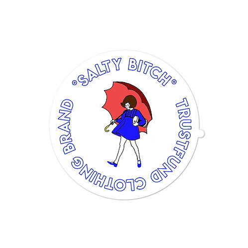 Salty Bitch Bubble-free stickers