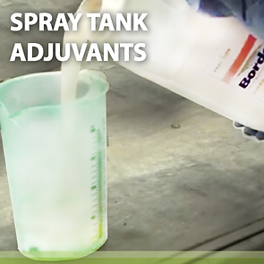 Spray Tank Adjuvants Product Page Banner