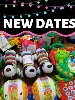 New Event Dates