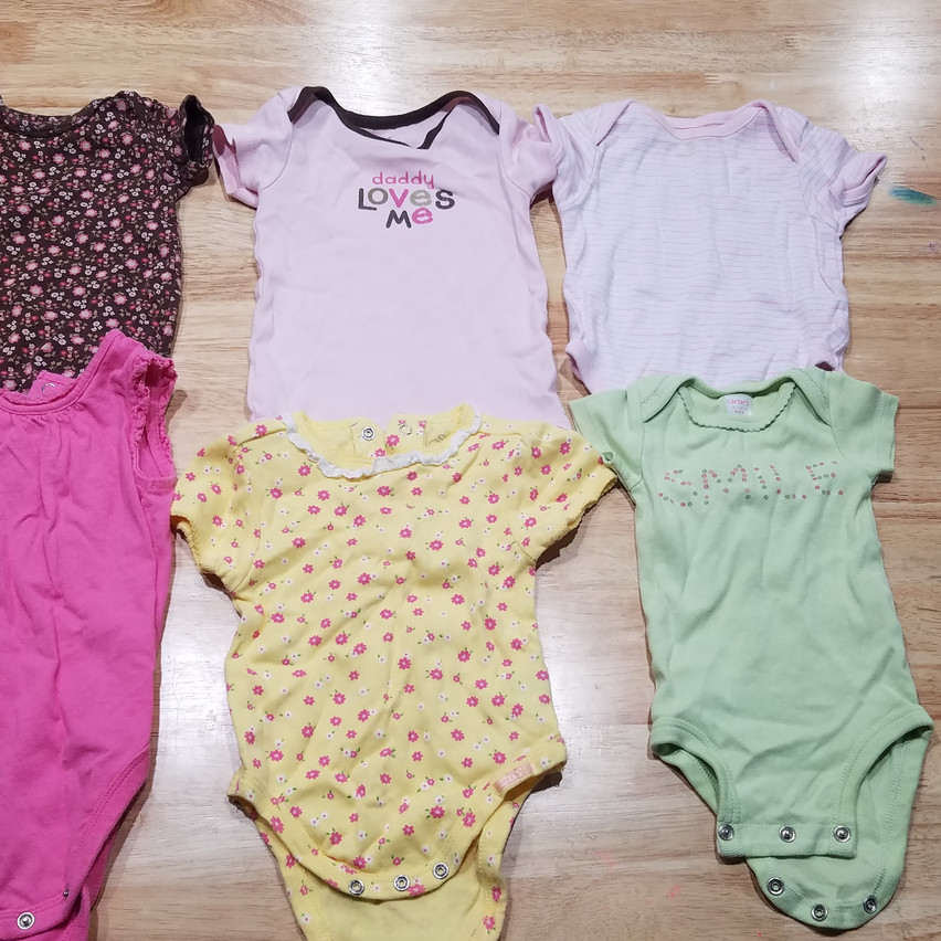 ONESIES MUST BE SOLD AS A SET