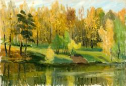 Осень в Кузьминках/Fall in the Park