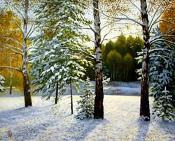 Первый снег/First Snow