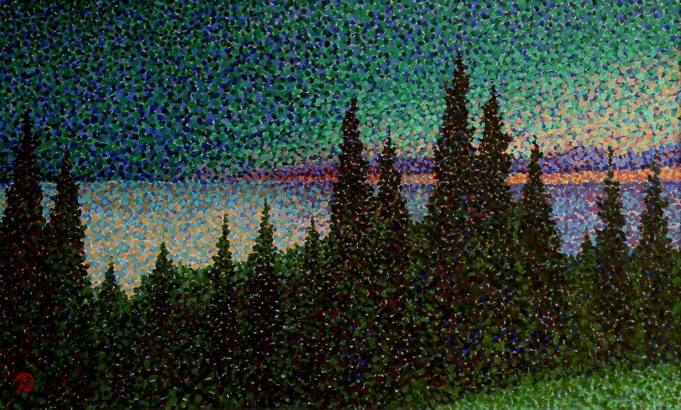 Изумрудный закат/Emerald Sunset