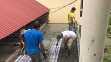 Visite à Con Cuông : avancement des travaux