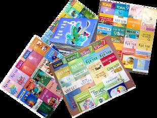Thu nhận sách giáo khoa cấp trung học cơ sở trước ngày 25 tháng 8