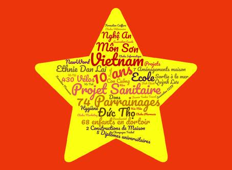 Ecole pour Tous au Vietnam a 10 ans !!!!