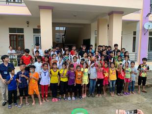 Les projets à Con Cuông - Nghe An pour les enfants Dan Lai