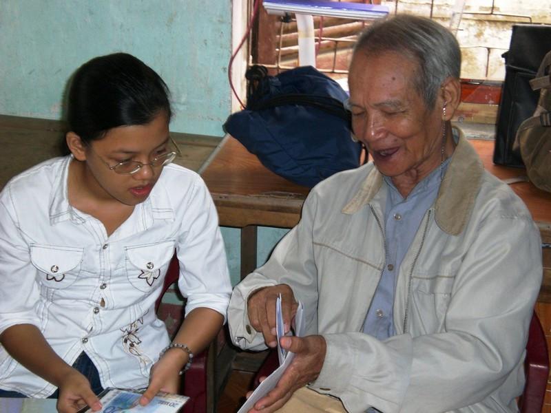 Visite avec Père Bao