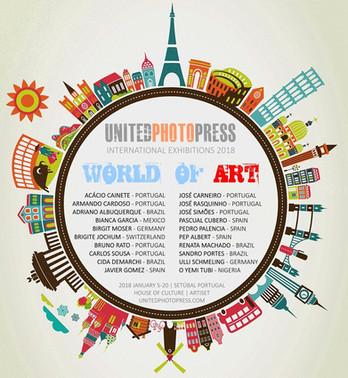 WORLD of ART International Exhibition by United Photo Press