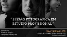 Photographic Session in Professional Studio - Limited Slots (Until August 16th)