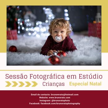 Kids Christmas Studio Photoshoots