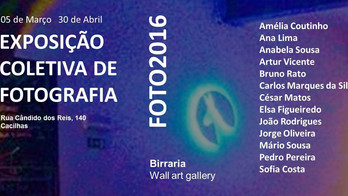 Collective Exhibition FOTO2016 by Birraria Wall Art Gallery